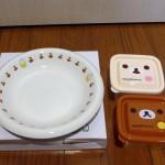 ミスド福袋2015ミッフィーお皿・リラックマレンジ対応フードボックス