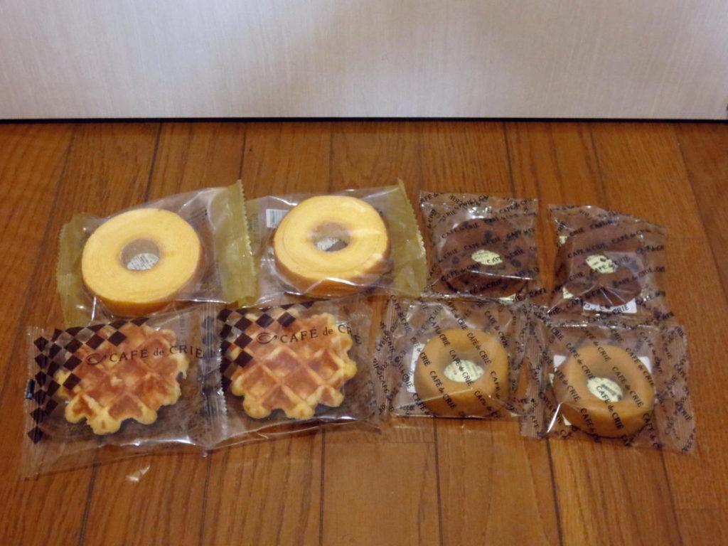 焼き菓子カフェドクリエ福袋2017中身